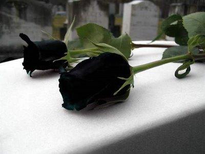 Las personas se visten de negro en señal de duelo por el ...
