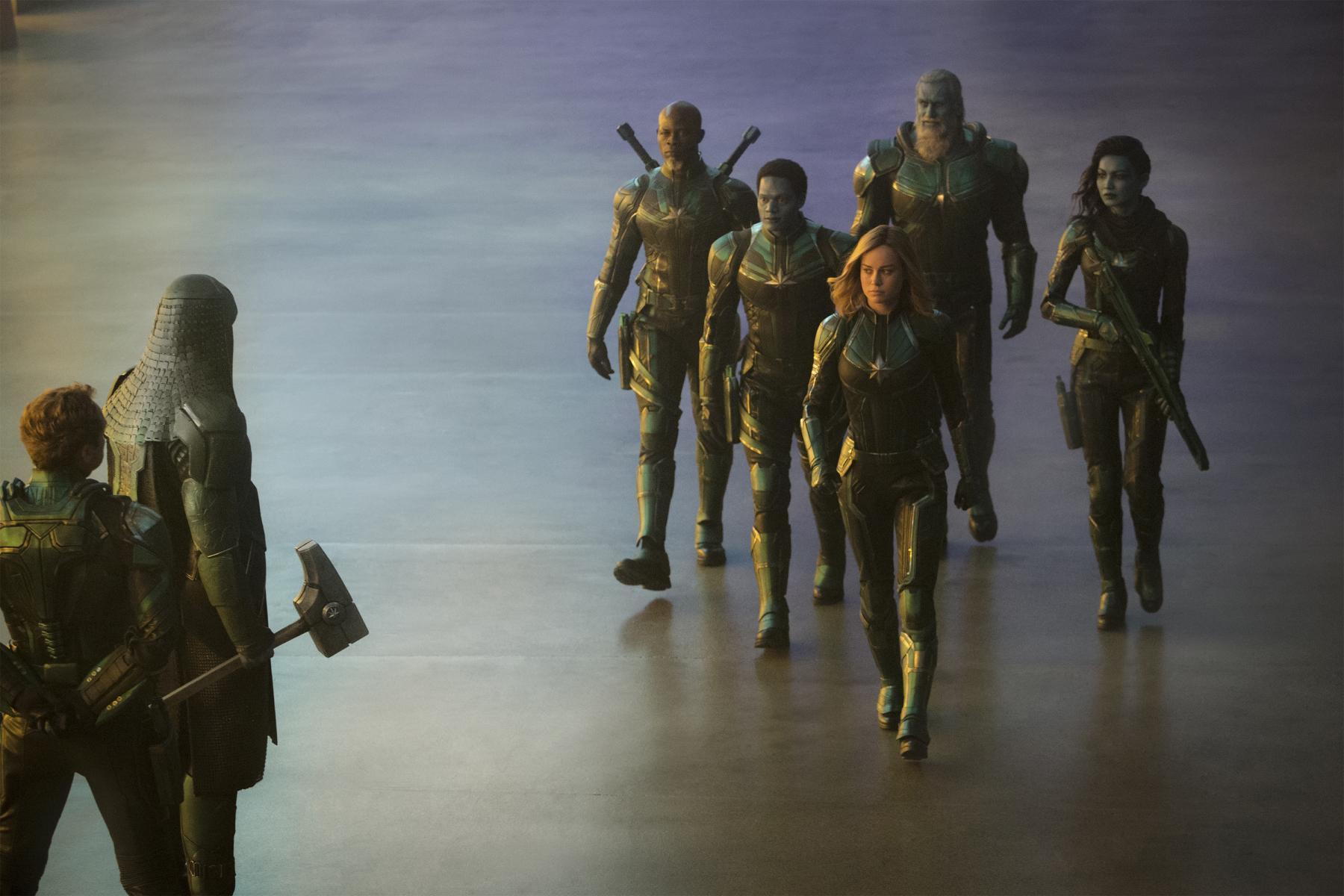 Película de super heroes de marvel