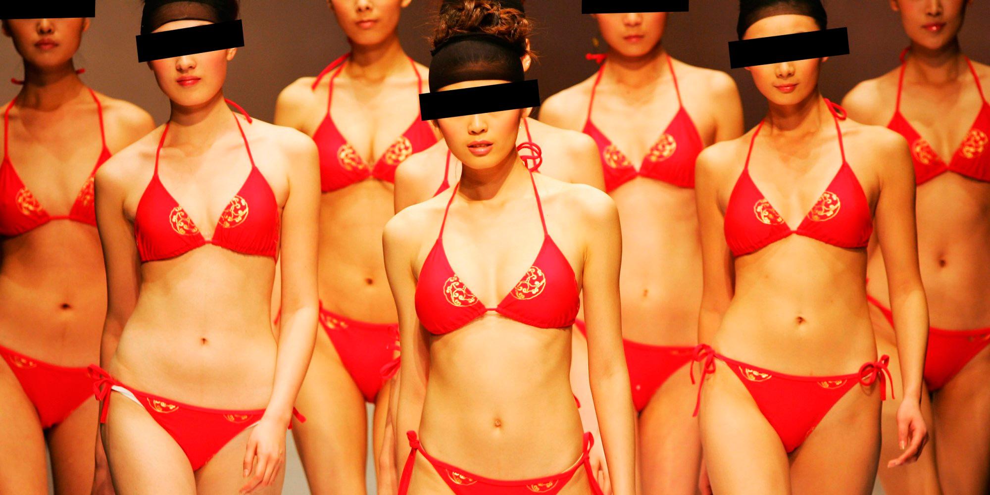 Chinese Sirens - Beautiful Chinese Women Chinese girl fashion models