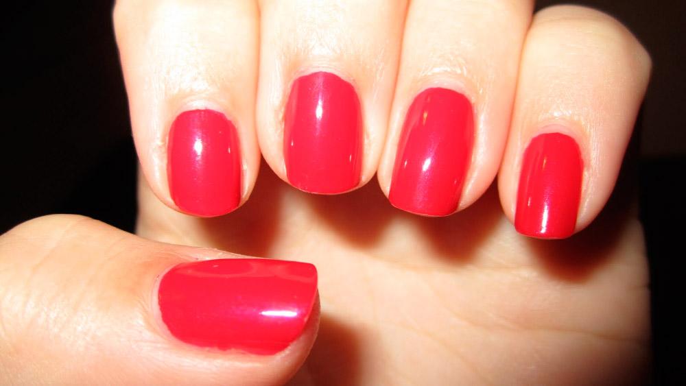 Los colores de moda para las uñas