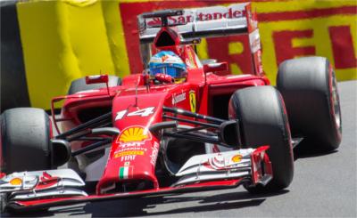 Alonso, GP Mónaco 2014