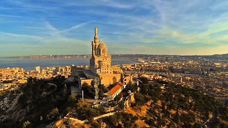 Basílica Notre Dame de la Garde, Marsella