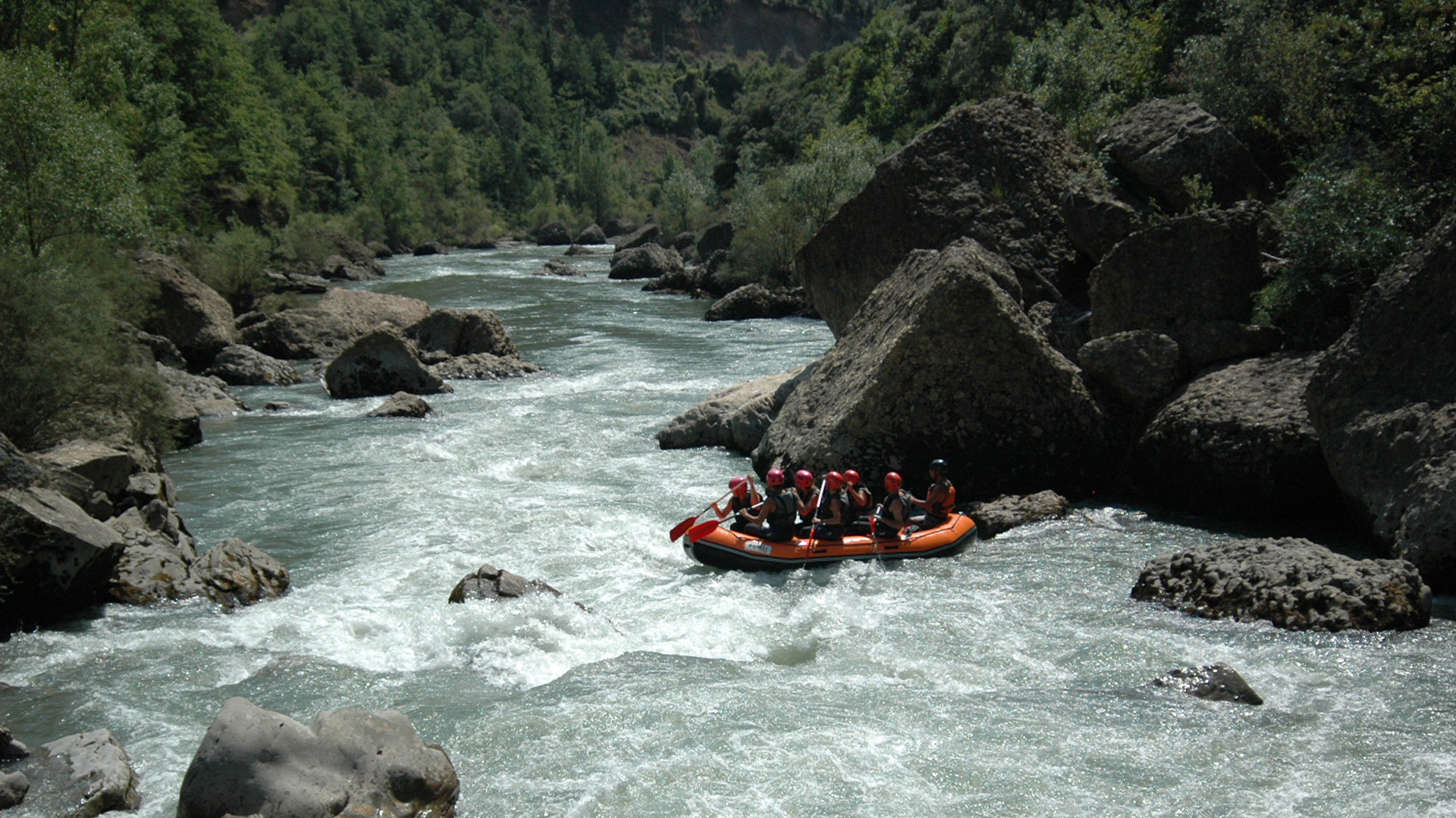 Deportes de aventura en Pirineos
