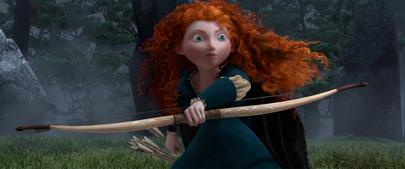 Brave, la princesa pelirroja de Pixar