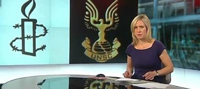 Confunden un logo de Halo con el de Naciones Unidas