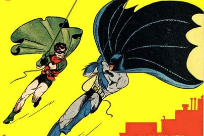 Subastan el primer cómic de Batman