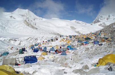Atascos para… ¡subir al Everest!