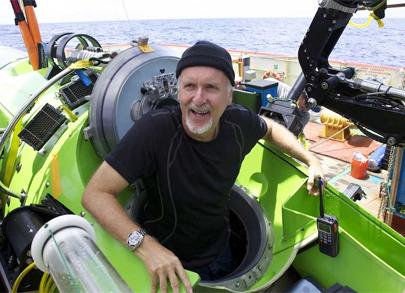 James Cameron desciende a las profundidades del océano
