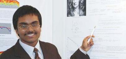 Joven resuelve un problema planteado por Newton