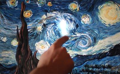 Interactúa con La Noche Estrellada de Van Gogh