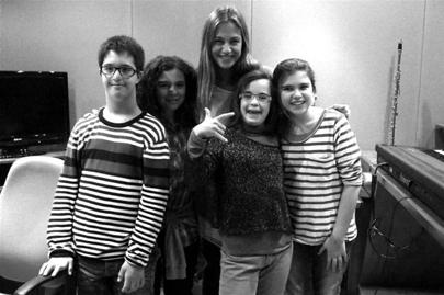 Jóvenes con síndrome de Down participan en el corto 'Los peces no se mojan'