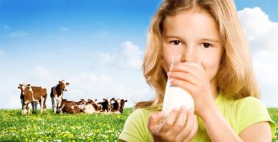 Los peques deben comer menos leche y carne