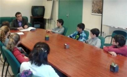 Alumnos de quinto de primaria crean dos cooperativas