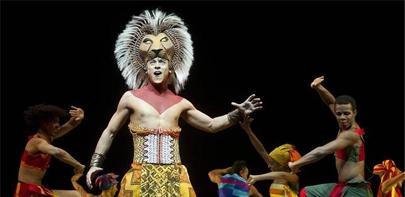 El musical del Rey León triunfa en España