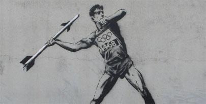 Nuevas pinturas de Banksy ante los Juegos Olímpicos