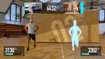 Ponte en forma con 'Nike+ Kinect Trainning'