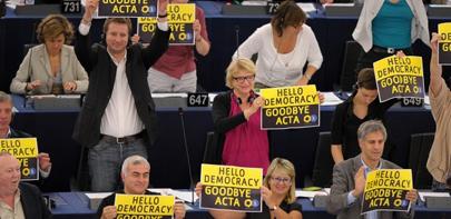 La Eurocámara se carga ACTA