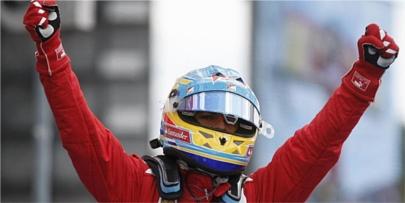Fernando Alonso gana en Alemania
