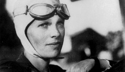 Un 'doodle' homenajea a la piloto Amelia Earhart