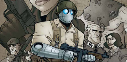'Atomic Robo' regresa al cómic