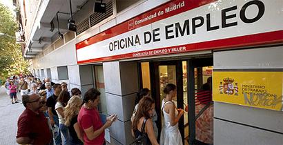 Tímida reducción en la tasa de desempleo juvenil