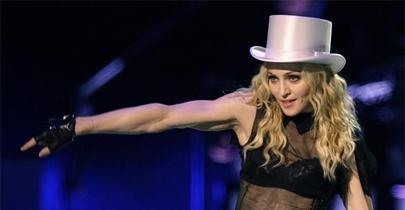 Madonna ofrece su concierto de París en 'streaming'