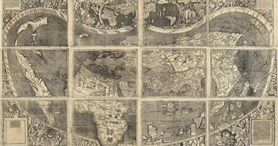 Hallado el primer mapamundi que incluye América