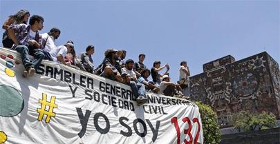 Los jóvenes se hacen oír en las elecciones de México