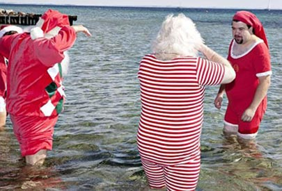 Se celebra la convención anual de Santa Claus