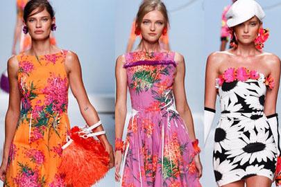 Vestidos floreados, la tendencia más veraniega
