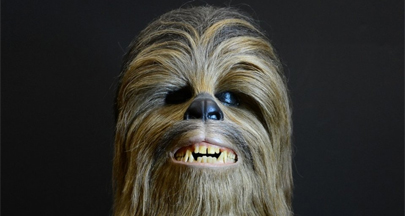 La cabeza de Chewbacca vendida por 140.000 euros