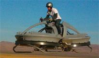 Desarrollan una moto voladora