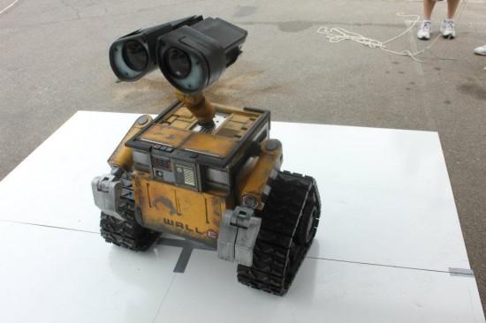 Construido el primer robot WALL-E