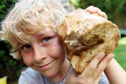 Un niño encuentra vómito de ballena de 50.000 euros