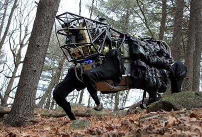 Un caballo robot para el Ejército estadounidense