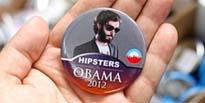Un joven se convierte en símbolo pro Obama sin saberlo