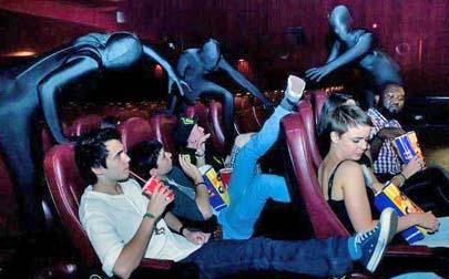Ninjas en las salas de cine para garantizar el silencio