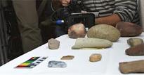 Una niña descubre utensilios del Neolítico en Doñana
