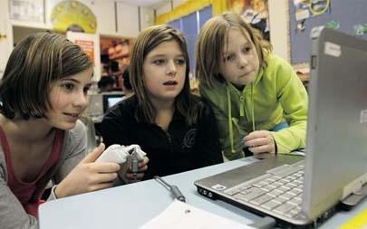 Videojuegos en clase de Primaria