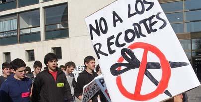 Huelga en Secundaria contra los recortes