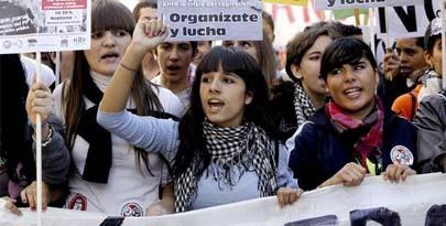 Los estudiantes menores de edad no podrán hacer huelga