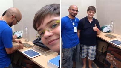 Adolescente compra un iPad con 594 monedas de euro