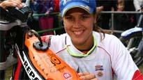 Laia Sanz, campeona del Mundo de enduro
