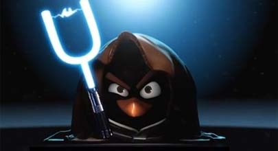 Angry Birds se atreve con Star Wars