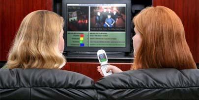 Usamos el móvil y vemos la tele a la vez