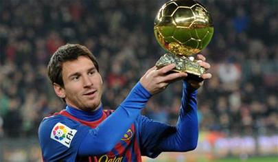 Messi, Cristinano e Iniesta a por el balón de oro