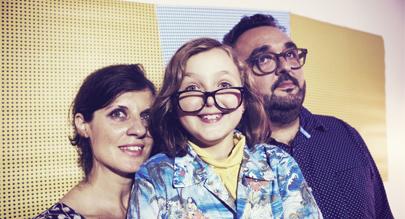 Candela, una nueva estrella del pop infantil