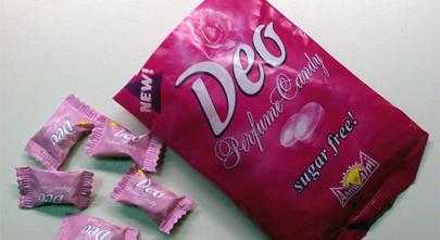 Con este caramelo tu sudor olerá a rosas