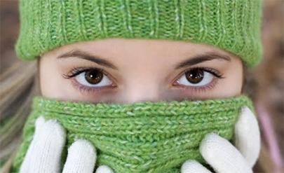 Niña de 12 años no sale de casa por ser alérgica al frío