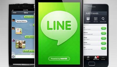 Llega 'Line', el competidor de 'Whatsapp'